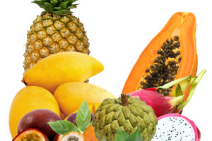 Экзотический набор фруктовЭкзотический набор фруктов