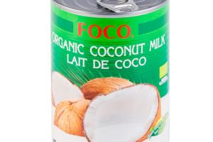 Органическое кокосовое молоко FOCO